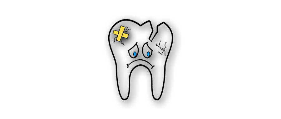 broken-tooth